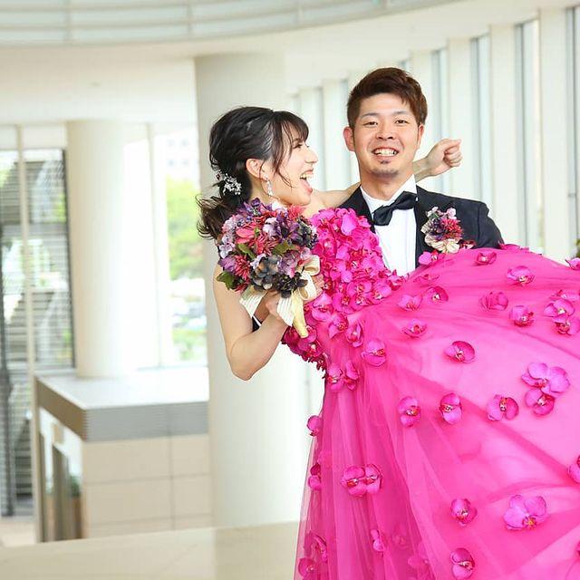 結婚式のラストショット